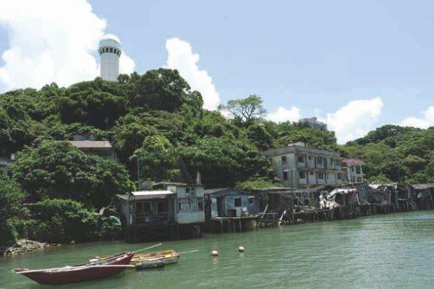 《馬灣漁村》-溫浩正