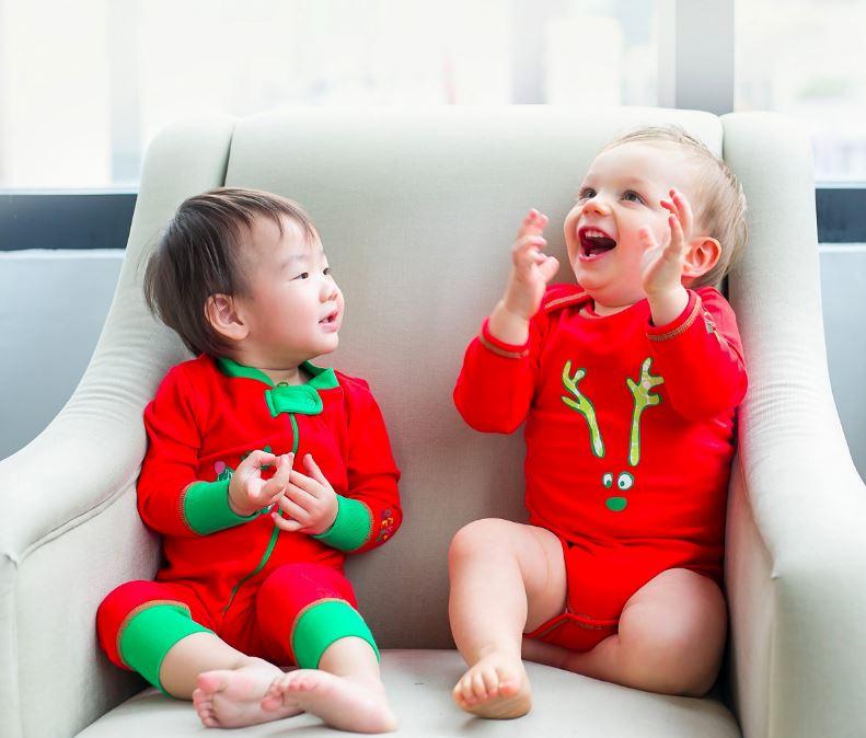 Curate Shop 113, D2 Place TWO 100%有機嬰兒聖誕服裝 HK$199起 *只限聖誕節期間限量提供