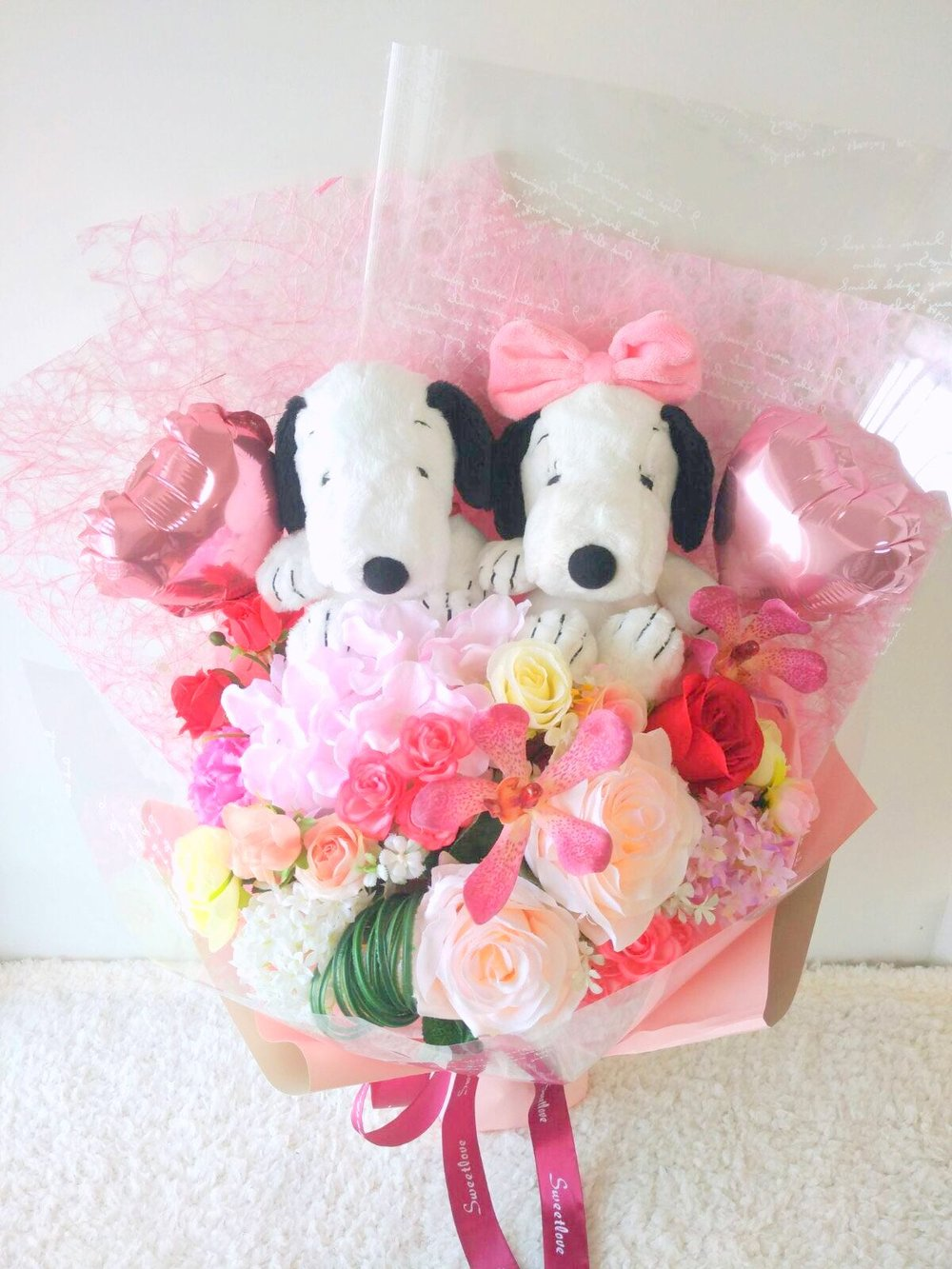 Snoopy&Belle Flower.jpeg