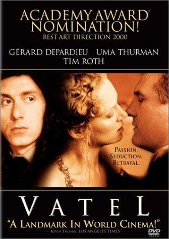 May 19, 2018Vatel (2000) - Directed by Roland Joffé2000年坎城影展開幕大片,由《教會》大導演羅蘭喬菲 (Roland Joffe) 及《太陽帝國》、《莎翁情史》金獎編劇湯姆史塔佩 (Tom Stoppard) 共同創作,講述19世紀的三個夜晚,Vatel 為繼位王子回來這凡爾賽宮三天中的餐點準備,而他是個聰明且擁有擔任重要慶典經驗的大廚師,但在這場慶典中卻滿溢著勾心鬥角的氣氛,每個人都想阻撓這場餐會的順利進行……原來在一場極盡奢華的宮廷晚宴,暗藏著不可預知的致命危機 ……
