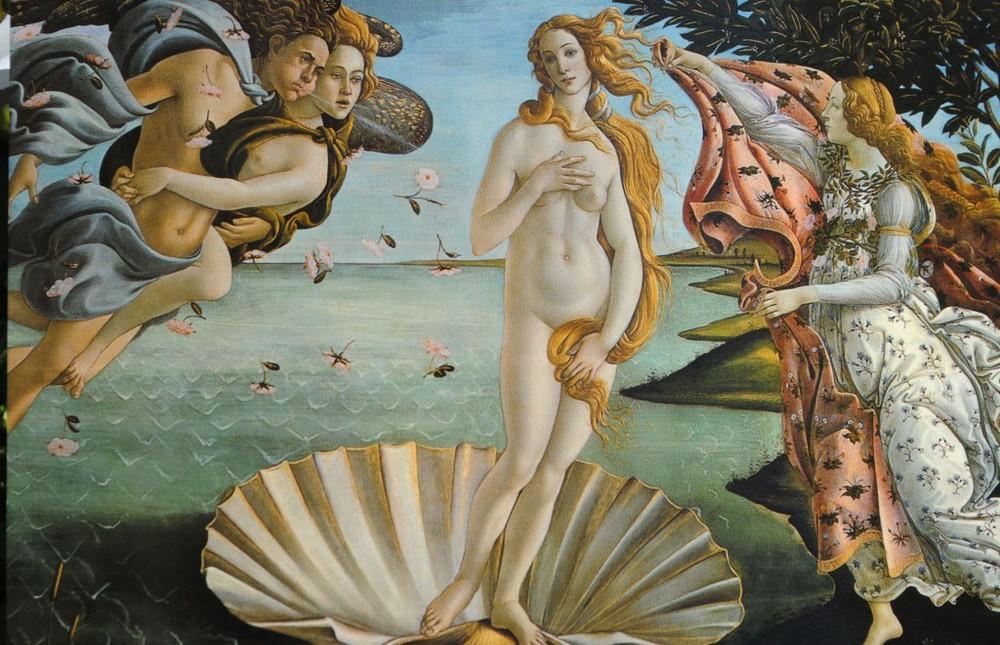 Botticelli Venus, 1484-6