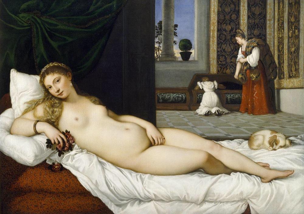Titian Venus of Urbino, 1538