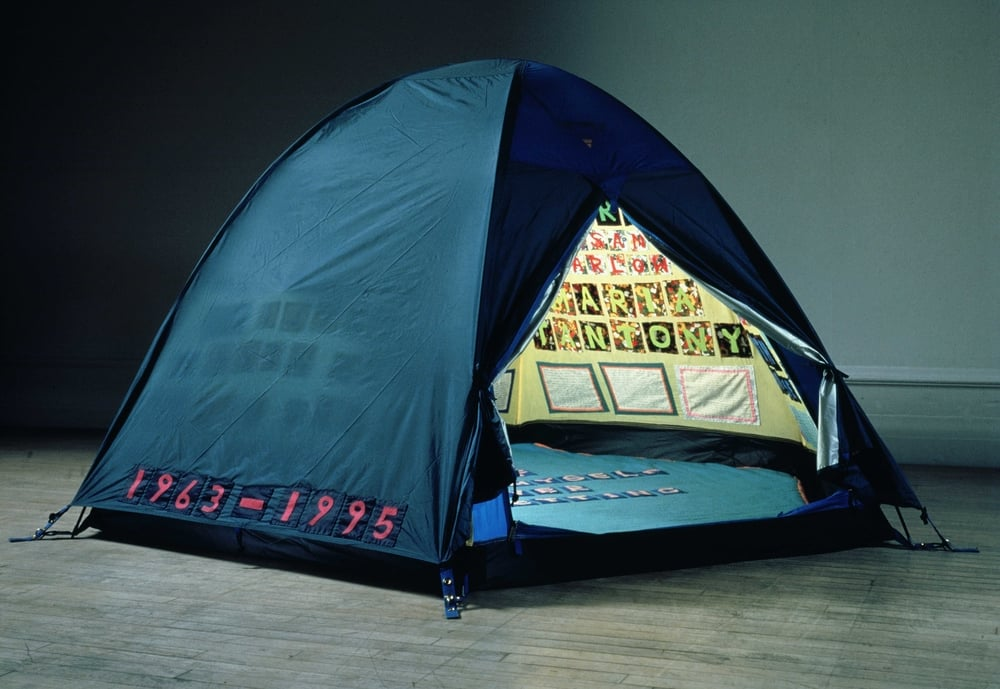 Tracey Emin,  Everyone I Have Ever Slept With 1963-1995,  1995
