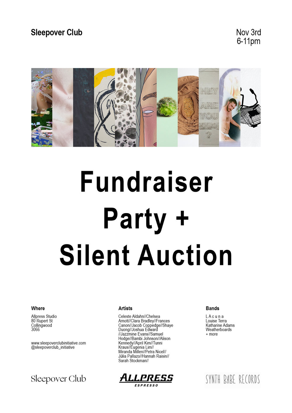 Fundraiser Party + Silent Auction