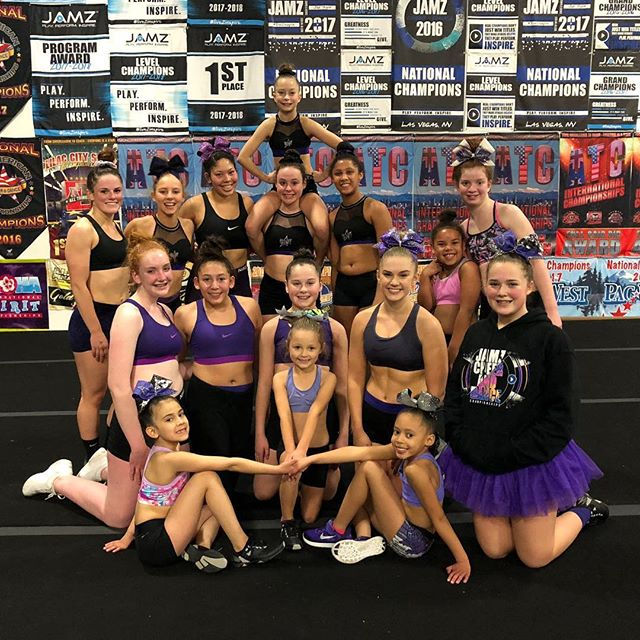 Our Friday practices wore purple tonight to send our thoughts & well wishes for Ariyah. We are wishing you a speedy recovery - and our thoughts are with your family, friends, and teammates. Get well soon, Ariyah💜 @fltopdog