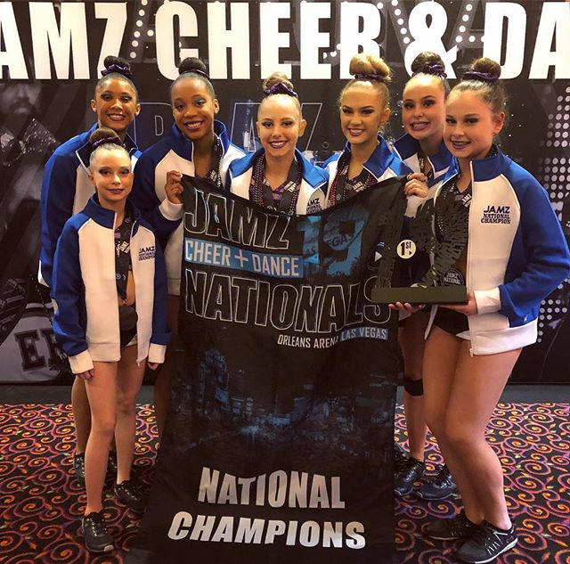 Congratulations Fame - 2019 Jamz National Champs. Thank you @jamzcheeranddance for a high energy weekend! We loved your detailed feed back and your appreciation for all our teams and their passion to push the boundaries in their routines. Already planning next years trip🤩 #zerodeductions #junior1 #senior3 #senior4 #senior4.2