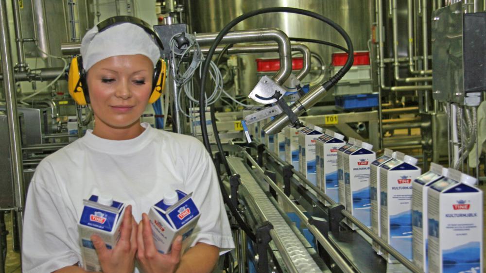 Fagarbeider industriell matproduksjon