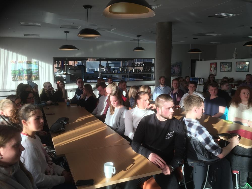 Hele 42 lærlinger møtte på lærlingeaftenen på Strinda videregående skole