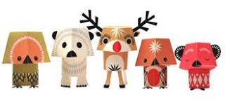 Styling Blog - Design, Interieur & Mode - Stylist Janette van Tol - Christmas Creatures van Mibo - ontworpen door Madeleine Rogers
