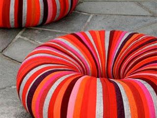 Styling Blog - Design, Interieur & Mode - Stylist Janette van Tol - Drops poef van Camilla Hounsell Halvorsen