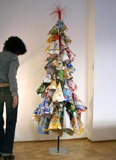 Styling Blog - Design, Interieur & Mode - Stylist Janette van Tol - Handgemaakte kerstboom van designer Elisabeth Vidal