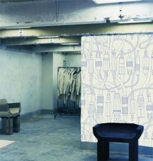 Styling Blog - Design, Interieur & Mode - Stylist Janette van Tol - Illustratie van Minakani op behang
