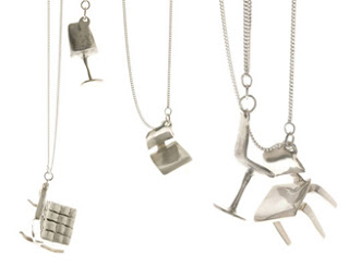 Styling Blog - Design, Interieur & Mode - Stylist Janette van Tol - Tiny Little Chairs van Bruxe Design & Uranium Neckwear