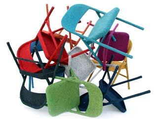 Styling Blog - Design, Interieur & Mode - Stylist Janette van Tol - Felt Chairs van ontwerpster Tanya Aguiniga