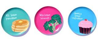 Styling Blog - Design, Interieur & Mode - Stylist Janette van Tol - Vrolijke kinderbordjes van Alphabet Plates
