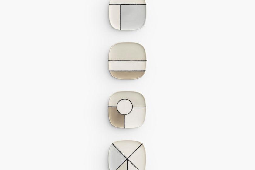 Mino-yaki gecombineerd met Kintsugi door Japanse Design Studio Nendo