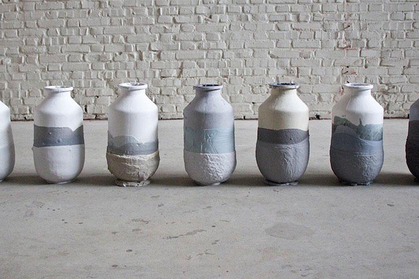 Jeroen Wand - 'Plunge' vazen 1