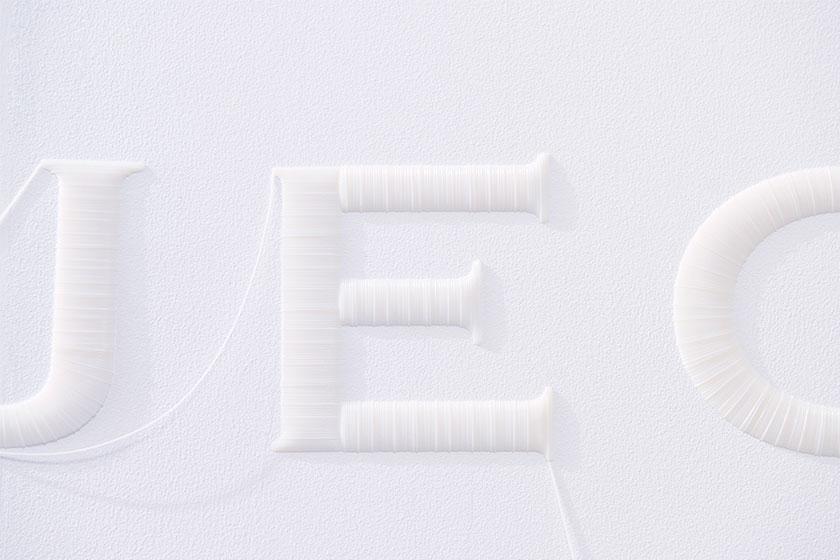 Wall Stitch  - 3D printing voor muren door Japanse Design Studio YOY en K's Design Lab 5