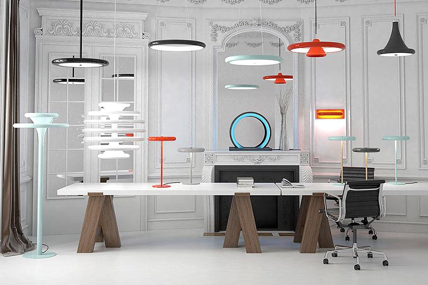 Ilomio  - Deense designled lampen bedienen via een mobiele app. Handig of niet? De verlichting uit Denemarken is wel heel mooi!