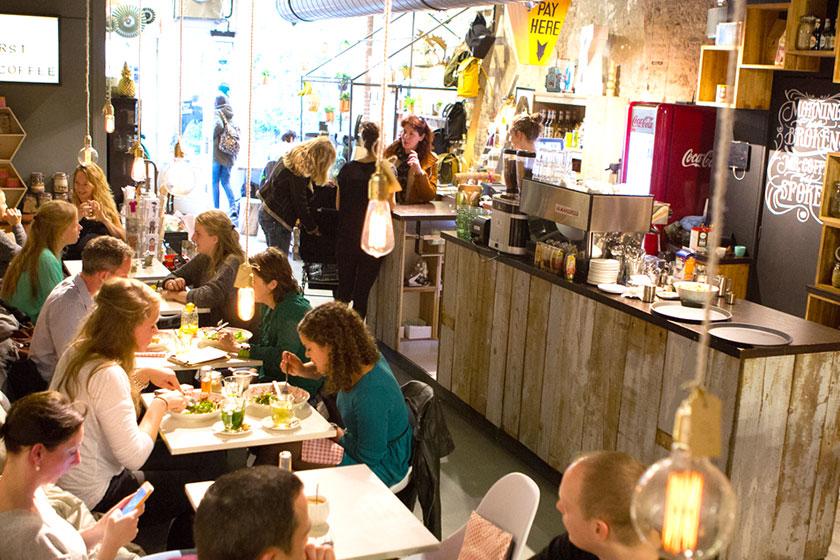Kek Delft  - één van de hippe hotspots in Delft voor een lekker ontbijt, lunch of een superlekkere koffie.