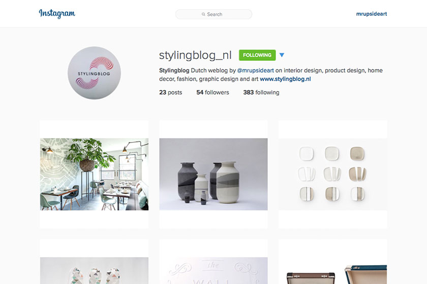 Stylingblog.nl nu ook op Instagram:https://instagram.com/stylingblog_nl/