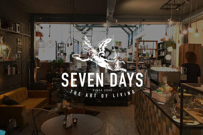 Seven Days interieurwinkel in Delftin een verweerd maar karaktervol pandaan de Oude Langedijk 7a.