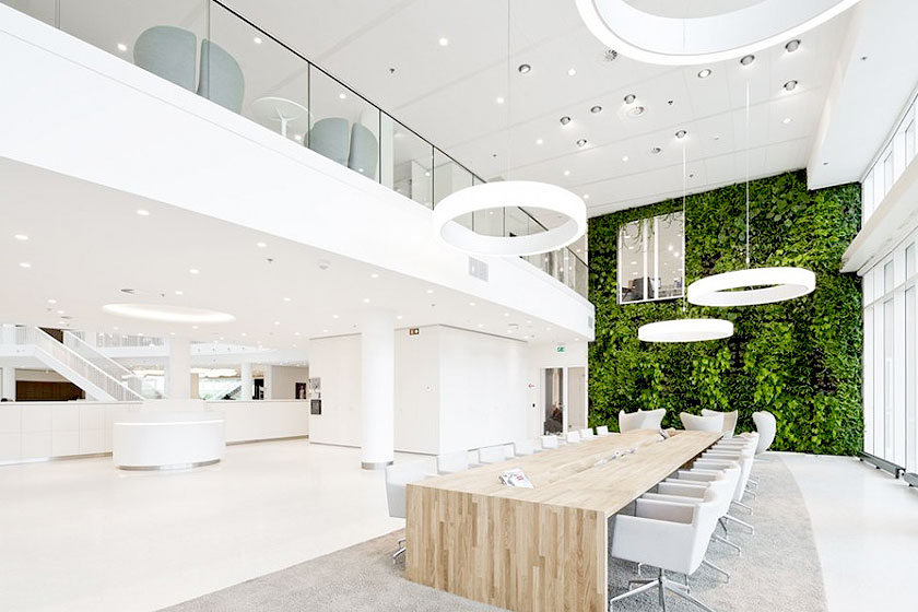 Verbetering kantoorinrichting deel 2 meer planten en for Sustainable interior design products