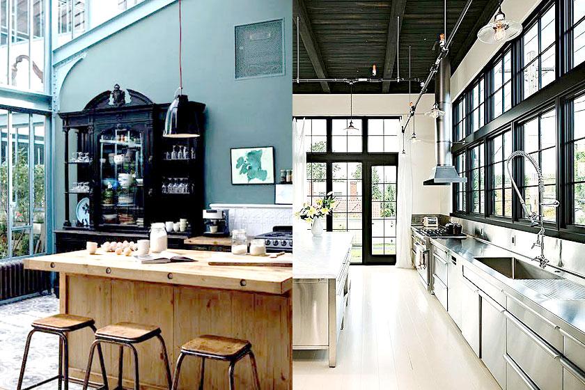 De industriële keuken ingrediënten heel veel inspiratie tips