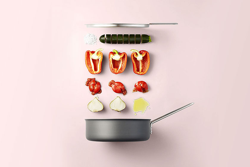 Mooi voorbeeld van Food Styling . Art Direction door Olga Bastian voor Deens reclamebureau Liquidminds. Fotografie door Mikkel Jul Hvilshøj.