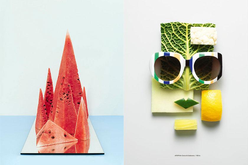 Mooi voorbeeld van Food Styling. Styling door Mattias Nyhlin voor magazine Plaza. Fotografie door Philip Karlberg.