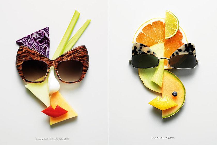 Mooi voorbeeld van   Food Styling  . Styling door Mattias Nyhlin voor magazine Plaza. Fotografie door Philip Karlberg.
