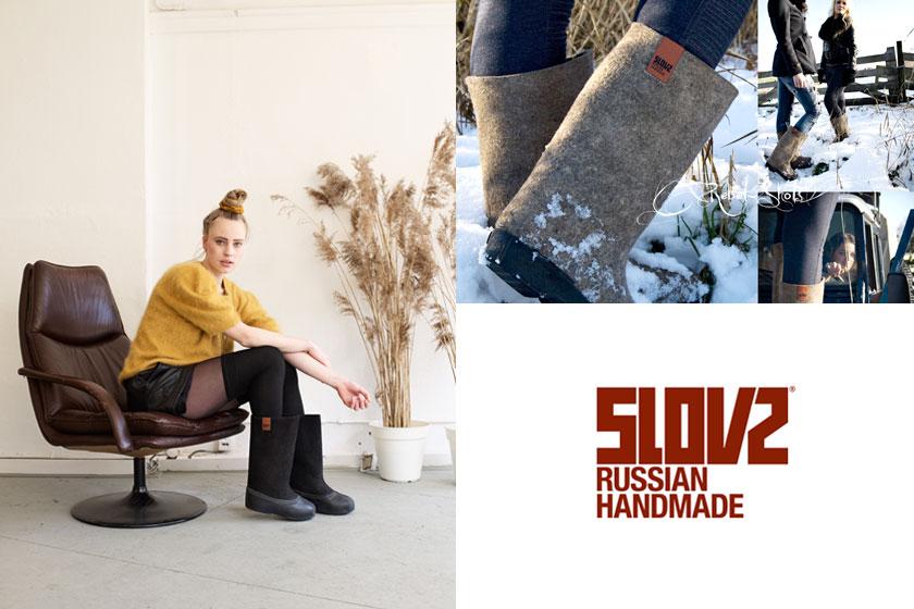 Slovz. Handgemaakte vilten laarzen uit Rusland. Russian handmade felt boots 1