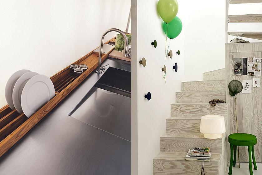 15 slimme tips van interieur stylisten bij de inrichting van kleine interieurs - Deel 1/2 - Zelfs de meest functionele meubels kunnen nog decoratief zijn.