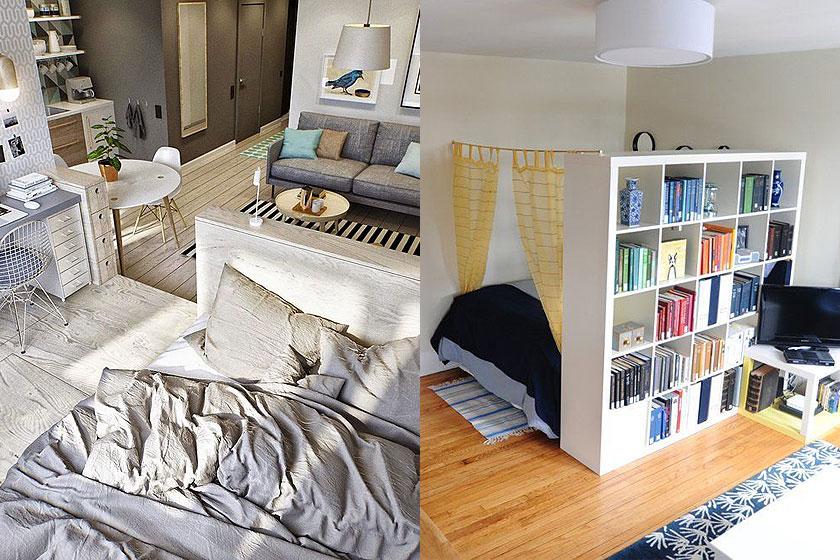 15 slimme tips van interieur stylisten bij de inrichting van kleine interieurs deel 1 2 - Decoratie klein appartement ...