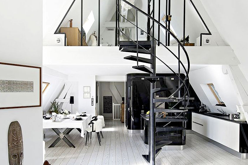 15 slimme tips van interieur stylisten bij de inrichting van kleine interieurs deel 2 2 - Kamer inrichting ...
