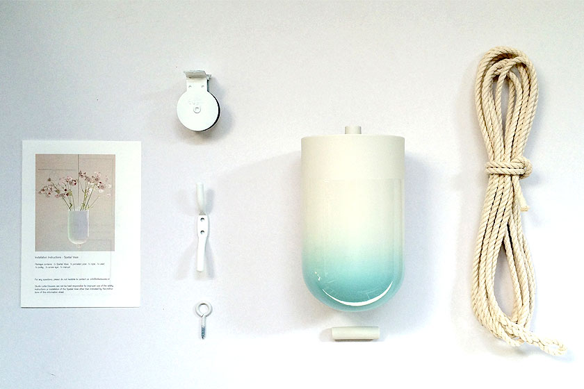 De 'Spatial Vase' van designer Lotte Douwes