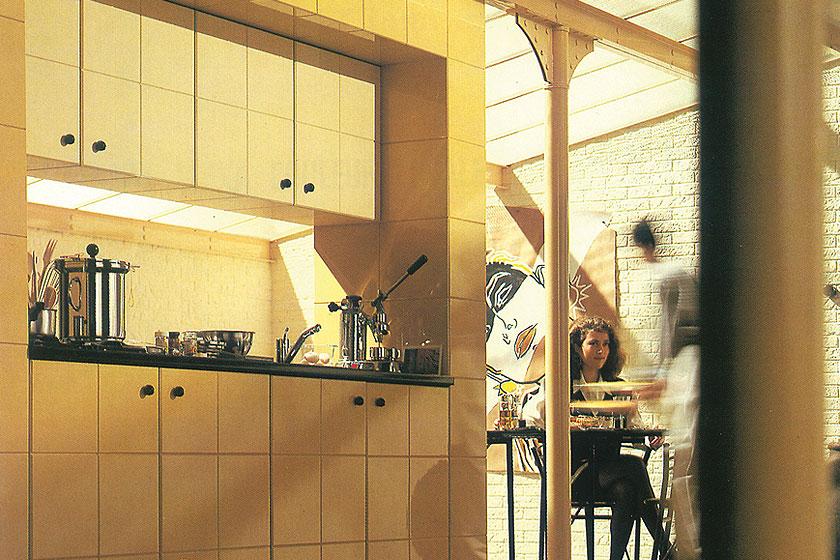 Fantastische retro beeldmateriaal van een Flexa keuken uit de periode van 1975 - 1985. Flexa viert haar 60-jarig bestaan als verfmerk.