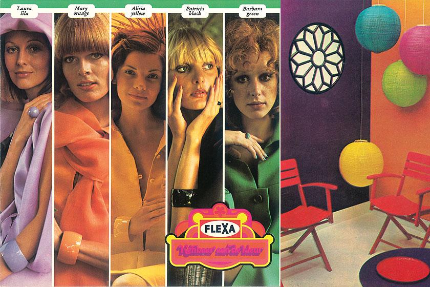 Verfmerk Flexa viert zes decennia vernieuwende verf met een mooie terugblik op 60 jaar verf  vol retro beeldmateriaal.