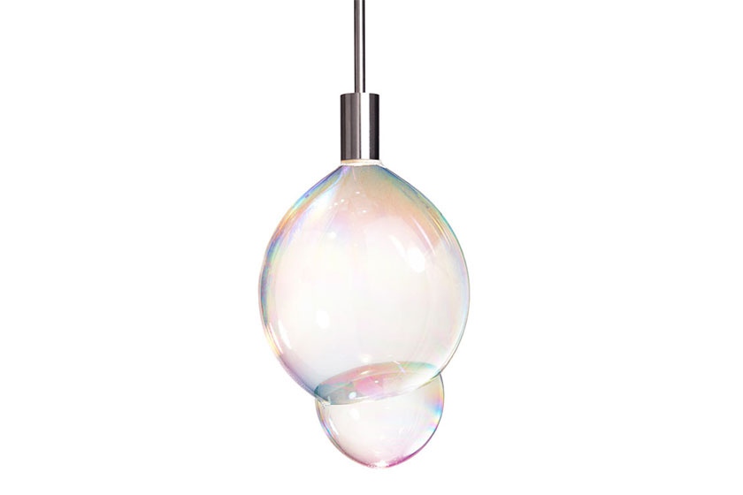 Bubble Lamp - de lamp die bellen blaast en die verlicht.
