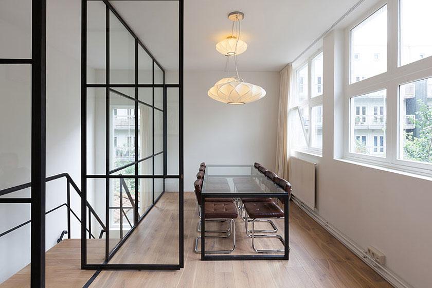 Architectenbureau Studio AA verbouwde een voormalig Amsterdams ketelhuis voor investeringsmaatschappij Nedvest - Eigentijdse en industriele inrichting