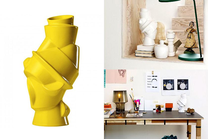 Closely Separated vaas ontworpen door Muuto - Oa. tekoop via webshop Flinders.com