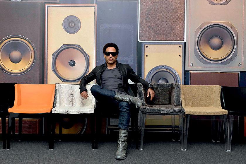 Lenny Kravitz lanceert eigen interieurcollectie in samenwerking met ...