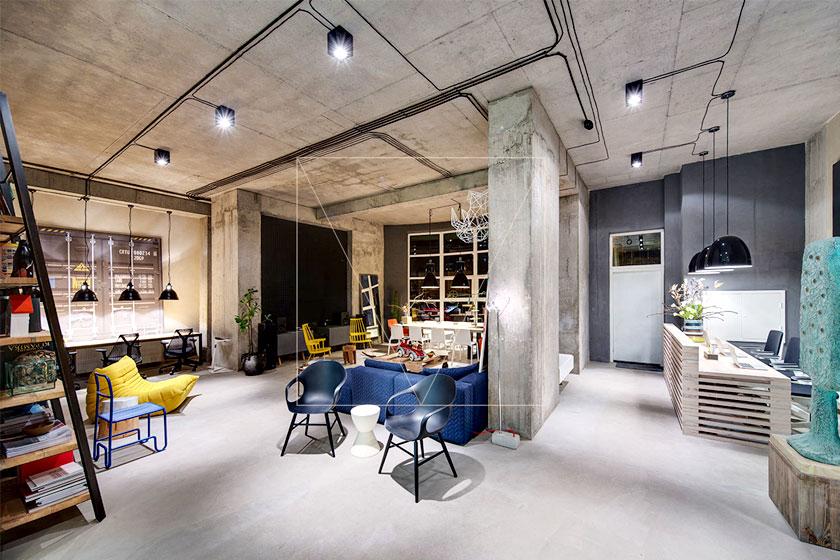Industriele Interieur Inrichting : Architect sergey makhno ontwerpt industrieel interieur dizaap