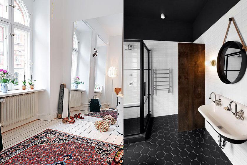 Dessins en prints in interieurs - Oppervlak 1 - vloeren met prints en dessins - Foto 1 van 3
