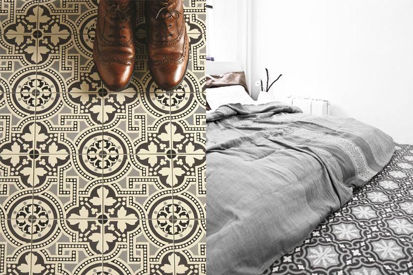 Dessins en prints in interieurs - Oppervlak 1 - vloeren met prints en dessins - Foto 2 van 3