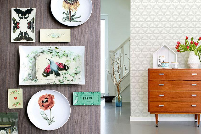 Dessins en prints in interieurs - Oppervlak 2 - wanden met prints en dessins - Foto 1 van 3