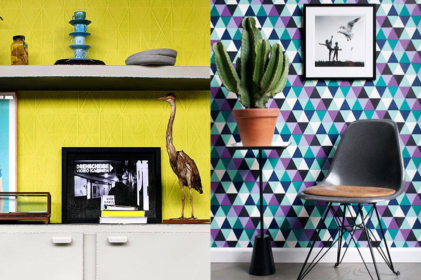 Dessins en prints in interieurs - Oppervlak 2 - wanden met prints en dessins - Foto 3 van 3