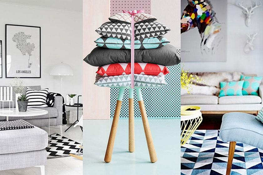 Tips Retro Kleuren : 5 tips voor goed gebruik van dessins en prints in interieur