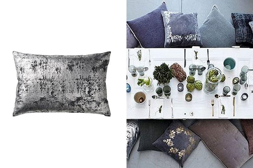 Charla kussen van Lene Bjerre geeft glamour aan je interieur - Te koop via de webshop van VT Wonen