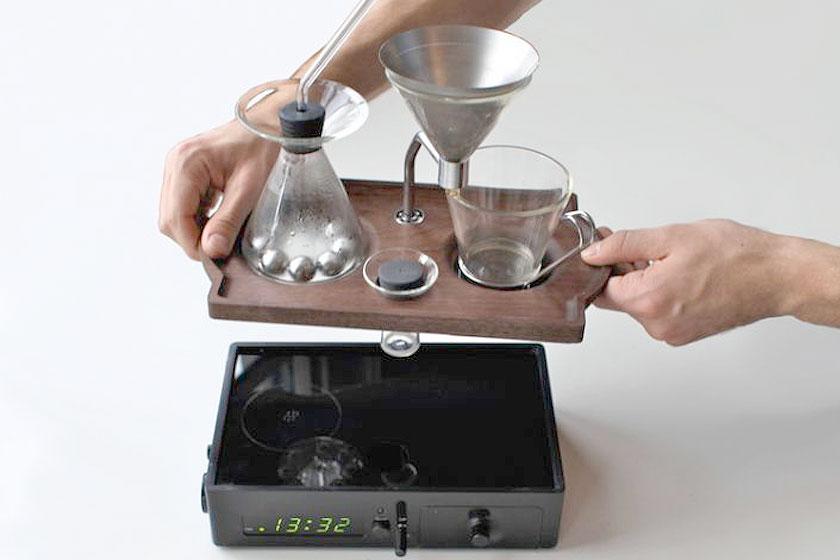 The Barisieur - wekker die koffie zet - Foto 3